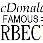 Логотип McDonald's 1948