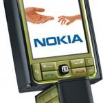 Зеленый Nokia 3250
