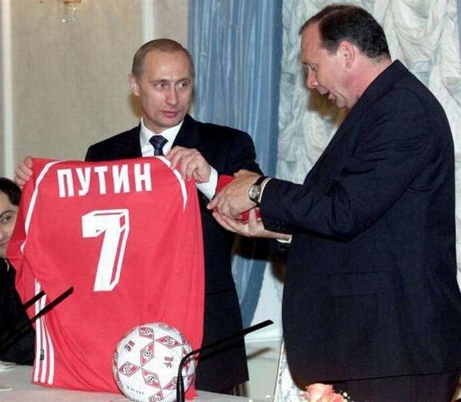 Футбольная форма Путина