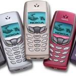 Цвета Nokia 6510
