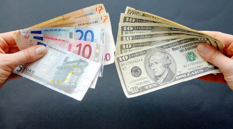 Деньги, евро, доллар