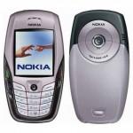 Nokia 6600 сзади и спереди