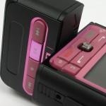 Розовый Nokia 3250