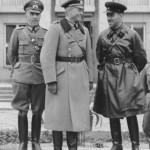 Генерал Гудериан и комбриг Кривошиен на совместном параде в Бресте