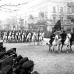 Кавалерия РККА во Львове