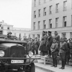 Парад РККА и Вермахта в Бресте 22 сентября 1939