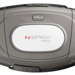 Nokia N-Gage вид сзади