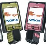 Цвета Nokia 3250
