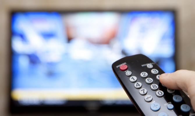 Телевидение России против Украины