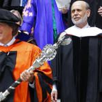 Награждение выпускников Принстонского университета