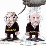 Разногласия Гринспена и Бернанке