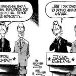 Бен Бернанке и Джордж Буш
