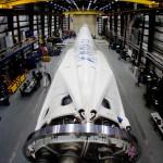 Falcon 9 в ангаре