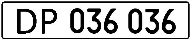 Автомобильные номера консульств, посольств