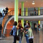 Холл Свободного университета Грузии