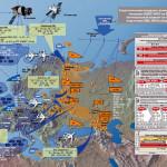 Карта ВС НАТО в Европе