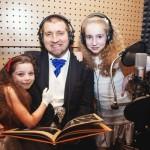 Потапенко с дочерью Наташей (справа)