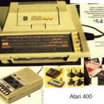 Первый компьютер Atari 400 Home Computer System