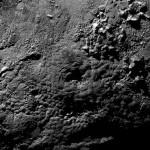 Криовулканы на поверхности Плутона