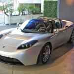 Tesla Roadster - первый серийный электромобиль Tesla