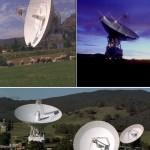 Антенны, принимающие сигнал от зонда