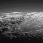 Ледяные горы и равнины Плутона