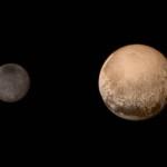 Плутон и Харон (его спутник)