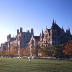 Фото университета Чикаго времен работы там Фридмана