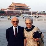 Милтон с женой Розой