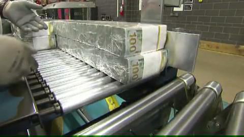 Производство стодолларовых банкнот (часть 2)