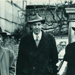 Фридман в молодости (слева)