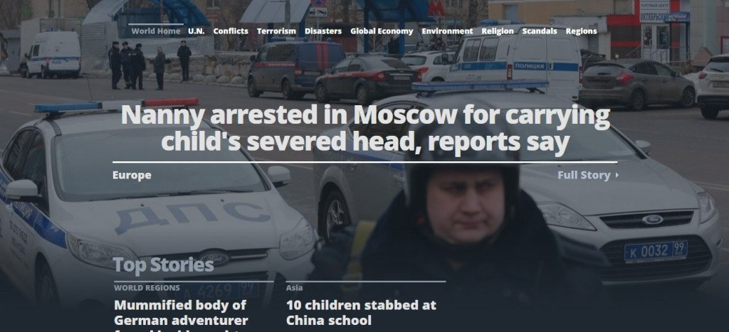 Убийство девочки в Москве - FoxNews