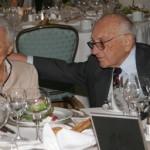 Фридман с женой на торжественном ужине
