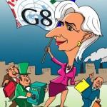 Лагард в борьбе с мировым финансовым кризисом