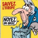 Карикатура Шарли Эбдо на Кристин Лагард