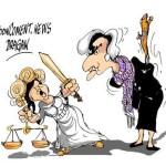 Карикатура на Лагард