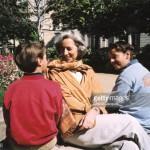 Лагард с двумя сыновьями