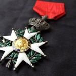 Офицер ордена почетного легиона Франции