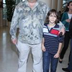 С сыном Андреем