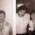 Старое фото Быкова с женой (справа)
