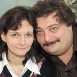 Фото с женой, Натальей Лукьяновой