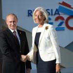 Лагард и Путин