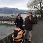 На отдыхе в Женеве
