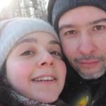 Дочь со своим мужем