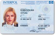 ID-карта Интерпола
