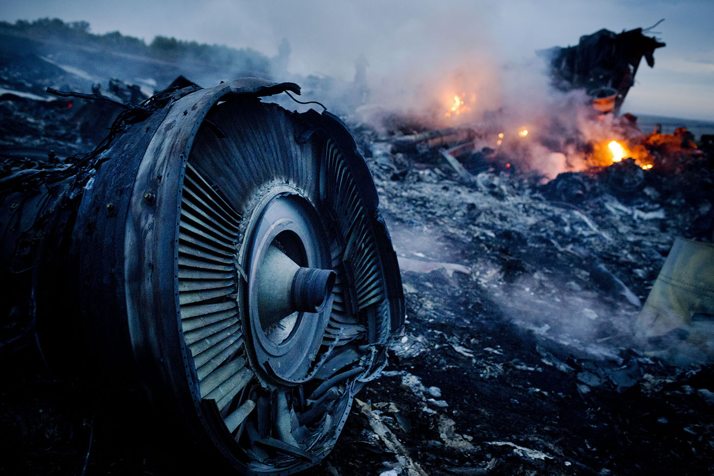 Air Malaysia Passenger Jet Crashes In Eastern Ukraine