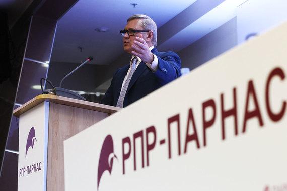 Михаил Касьянов - председатель партии Парнас