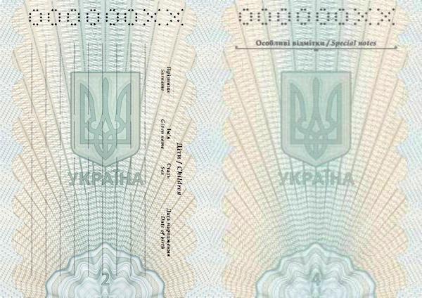Паспорт не гражданина Украины