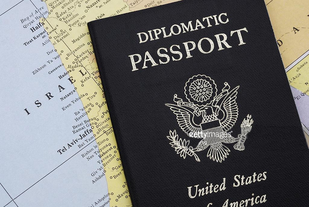 Дипломатический паспорт США