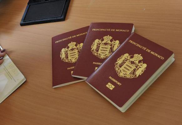 Паспорта Монако